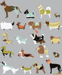 Dogs On Parade - Anna Luther