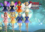 Fairies - Hyrule Warriors by Hakirya