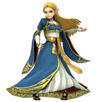 Zelda SSBU - Breath of the Wild (Princess)