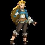 Zelda SSBU - Breath of the Wild (V4) by Hakirya