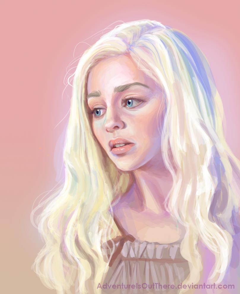 Daenerys Targaryen by AdventureIsOutThere