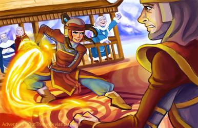 Firebending Test by AdventureIsOutThere