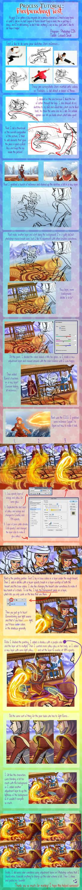 Firebending Test: Process