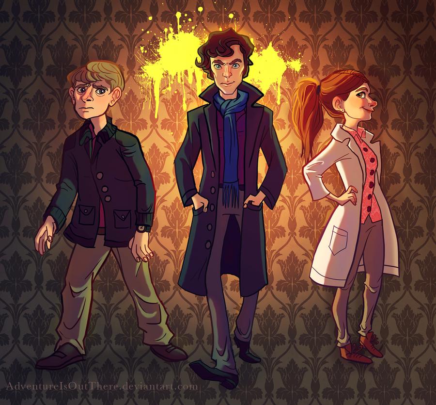 Sherlock by AdventureIsOutThere