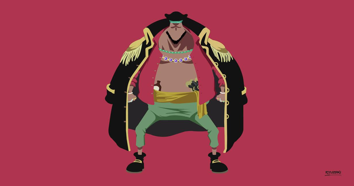 Blackbeard (One Piece) - Minimalist Wallpaper by ...