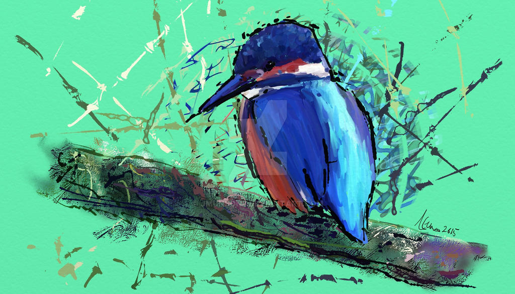 Kingfisher by JMunsonII