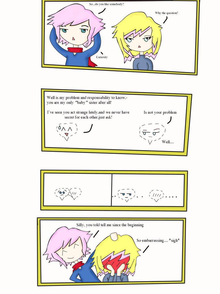 Little Siblings Talk by lightning167