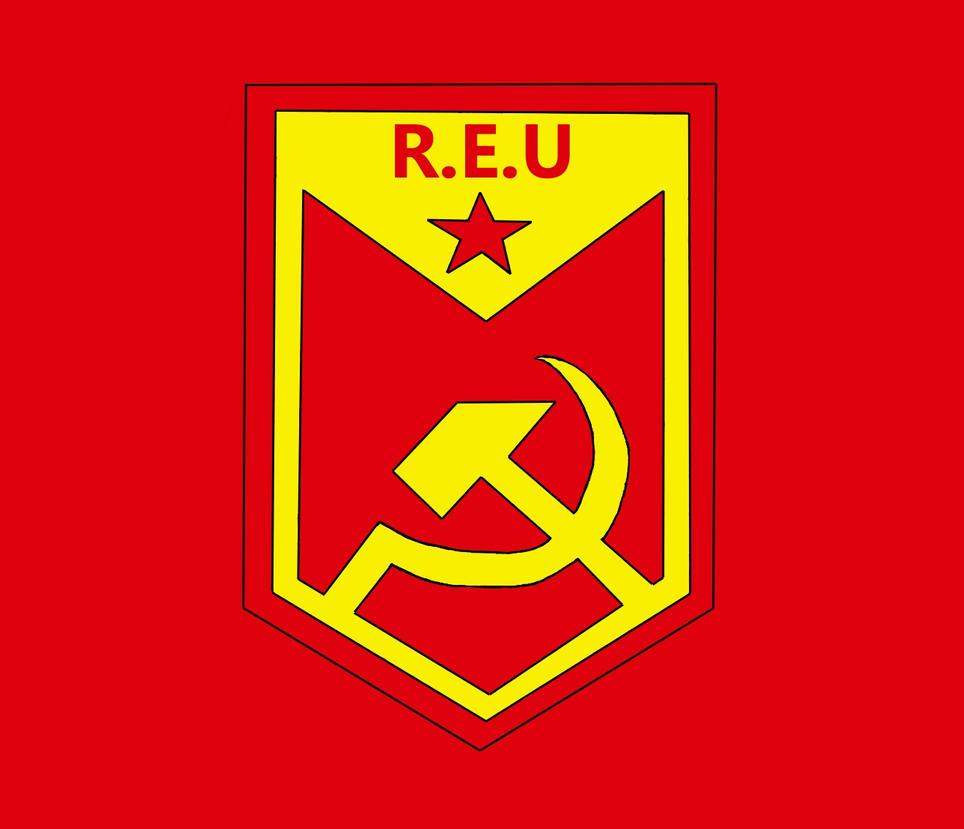 NWO - REU flag and simvol by GrimReaperBG