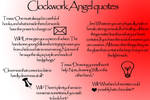 Clockwork angel quotes