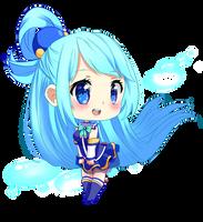 KONOSUBA! Aqua by Haylau
