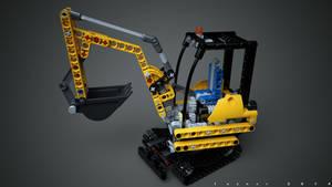 Lego 8047 Compact Excavator v2.0
