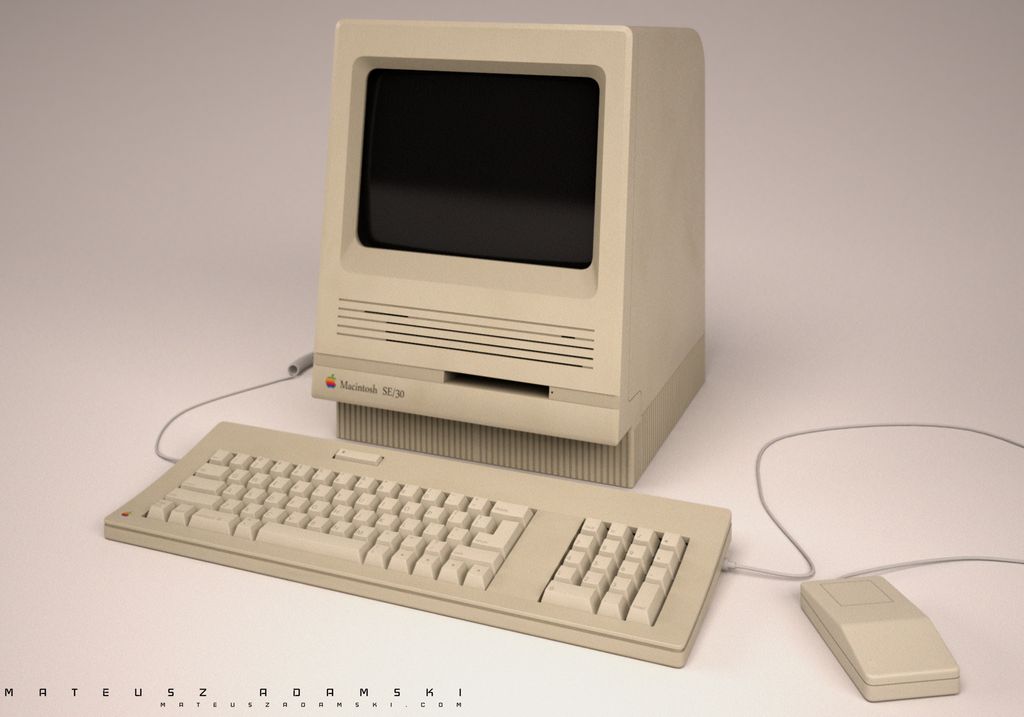 Macintosh SE/30 by Ineray