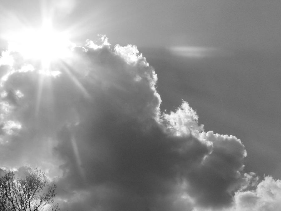 Sky and sun by jericoblackstone