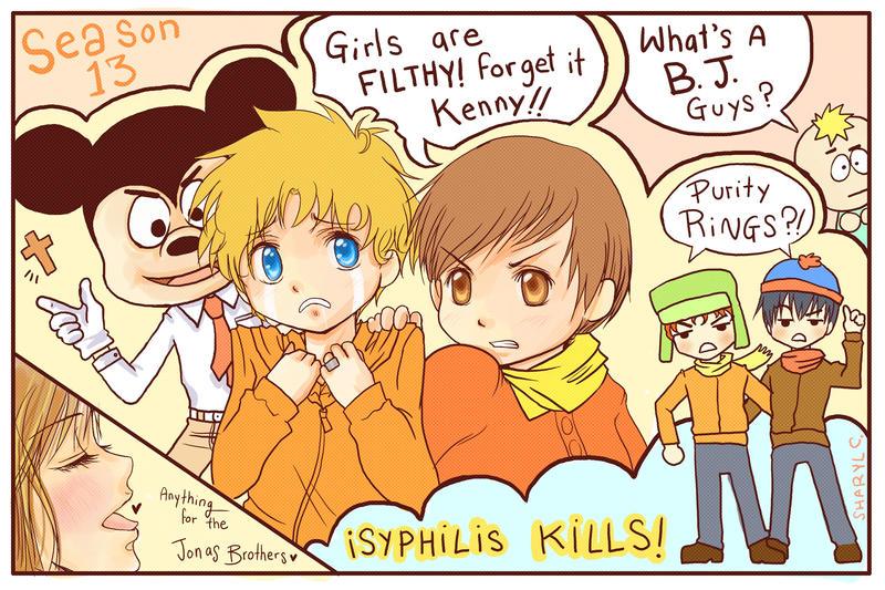 South Park Anime Kenny X Kyle Season 13 south park by duofan