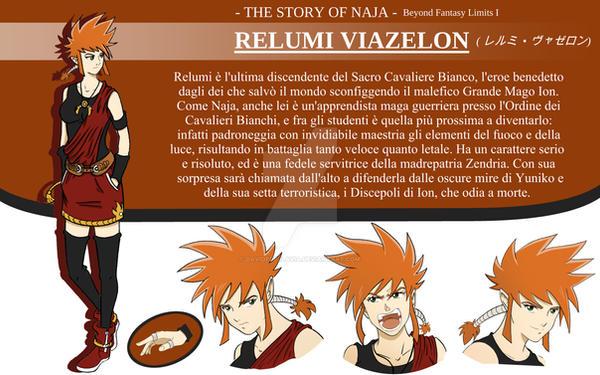 Relumi Viazelon - Character Design - by DavideDellaVia