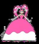 Octowoman princess dress