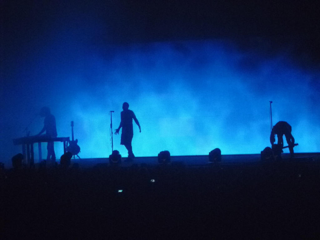 Silhouette Nine Inch Nails Live in Manchester 2014 by Nicole23 on ...