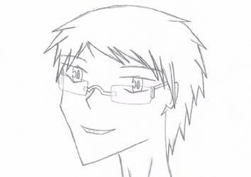 Manga-fied Self Portait by ColinatorGX