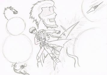 Kaleido Shirou - Cover Sketch by ColinatorGX