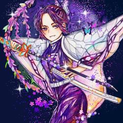Shinobu Kochou by Cyatus