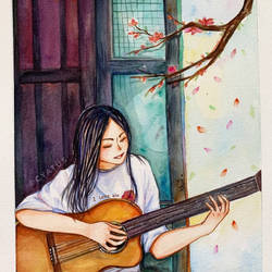 You and Guitar by Cyatus