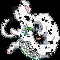 101 Terradragon - Dalmatian - GC SC FSR by QviCreations