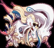 161 Terradragon - Kitsune CUSTOM by QviCreations