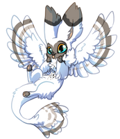 387 Terradragon - Snow GIFT by QviCreations