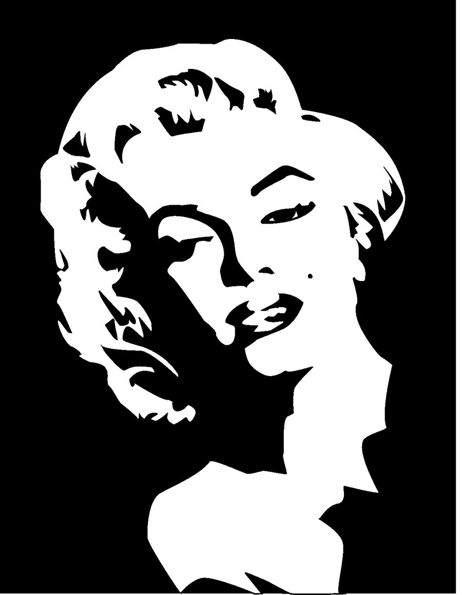 Marylin Monroe vector by anthszfolio on DeviantArt