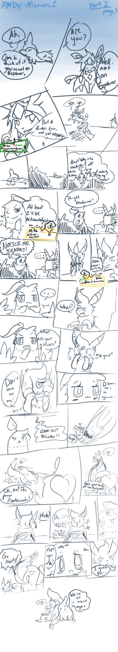 PMDU Mission1 Part 2 p2 by KawaiiManaphy