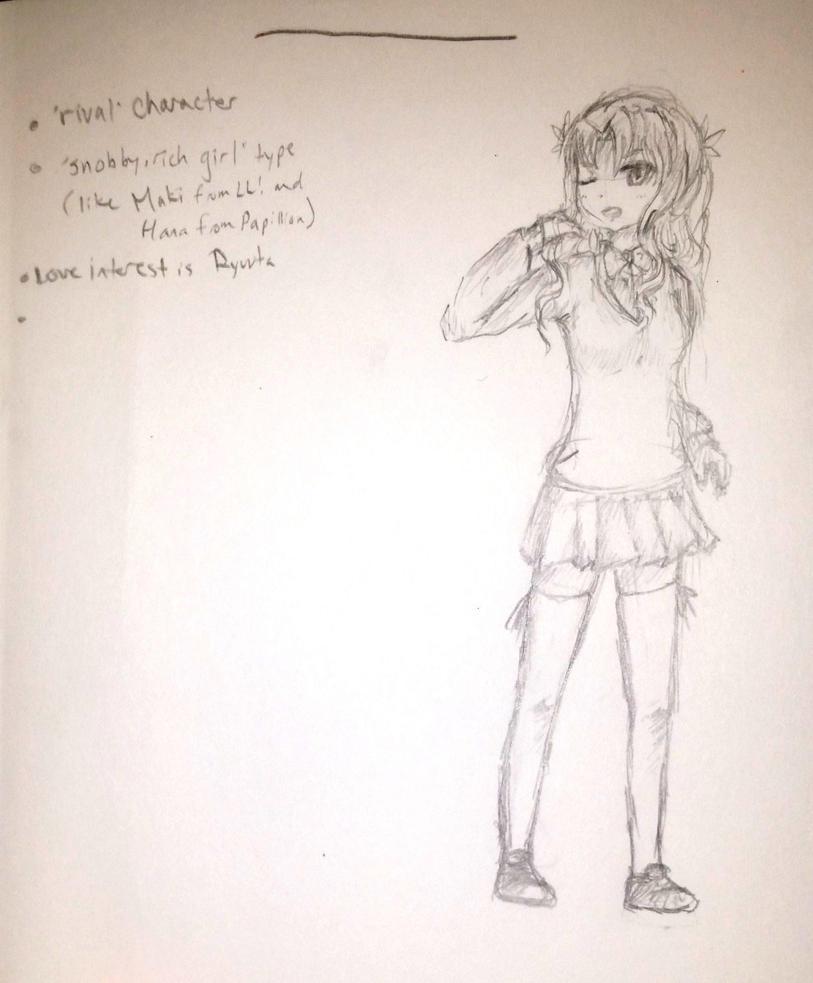 Rival girl by KawaiiManaphy