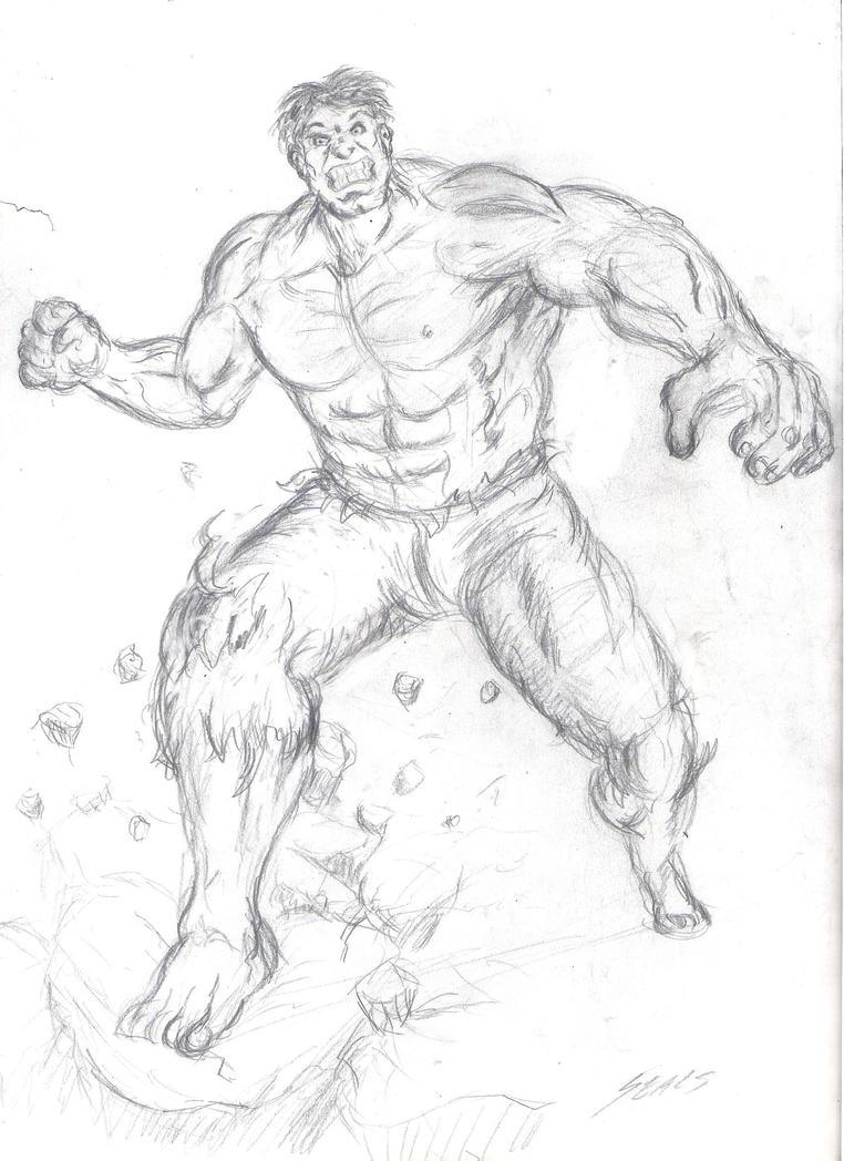 Give Hulk Back Coke! by jrseals