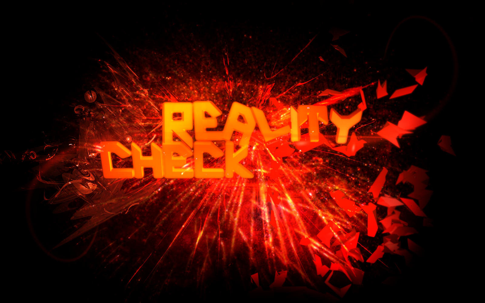 Reality Check Wallpaper by VoidDesigns on deviantART