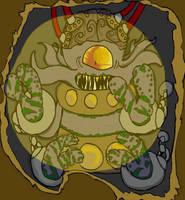 redesigned au. Asylum Dalek by Fluffy-The-Watcher