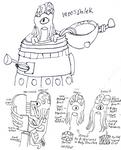 1900 Dalek Sketch 1