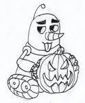 Happy Halloween and by Fluffy-The-Watcher