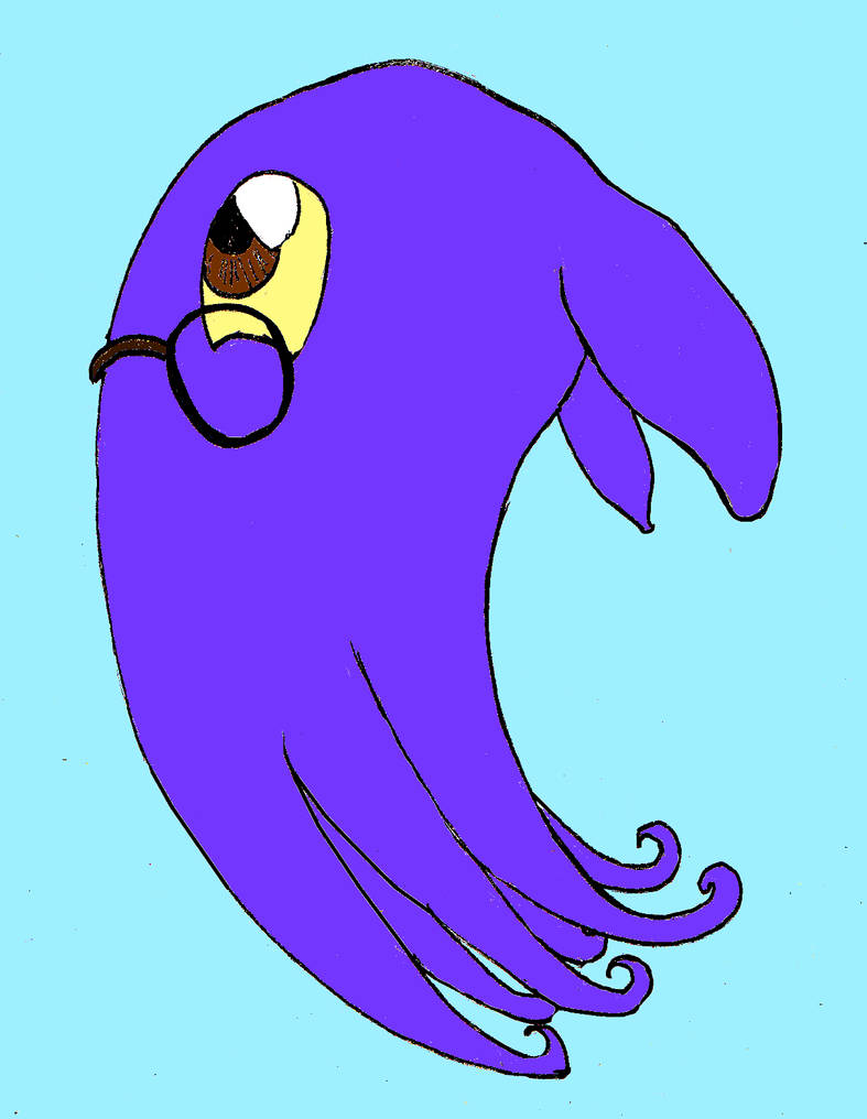 Fluffy the Octopus by Fluffy-The-Watcher