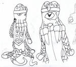Emperor Xeno sketches