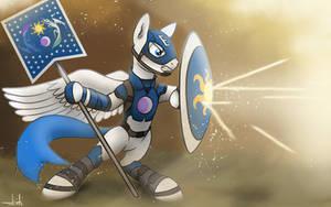 Captain Equestria - Captain America Ponified by AhmadaFadhil