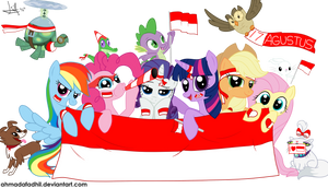 MLP - Indonesian Independence Day by AhmadaFadhil