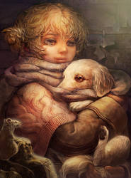 stray  child by umedama