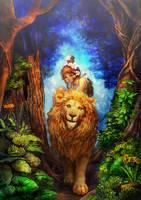 walk a lion by umedama