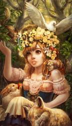 Dream of Spring by umedama