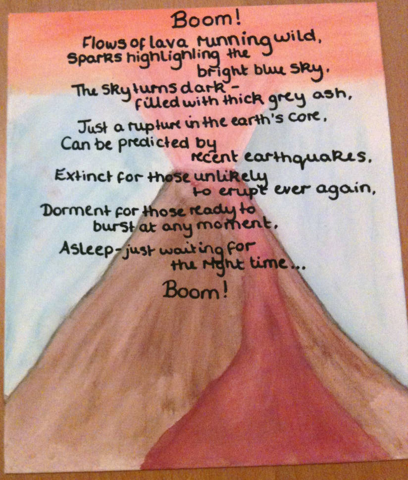 Volcano Poem - Geography by SuperSwimmer
