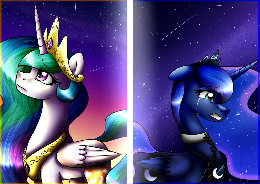 I miss you,sister...(Lullaby for a Princess) by Lada03