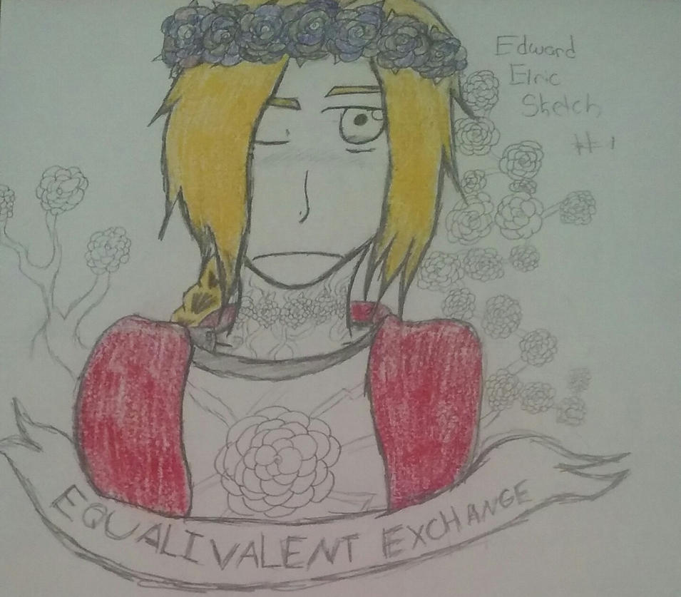 Edward Elric Flower Power by FullmentalAlchemist3