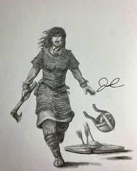 Request: Shield Maiden