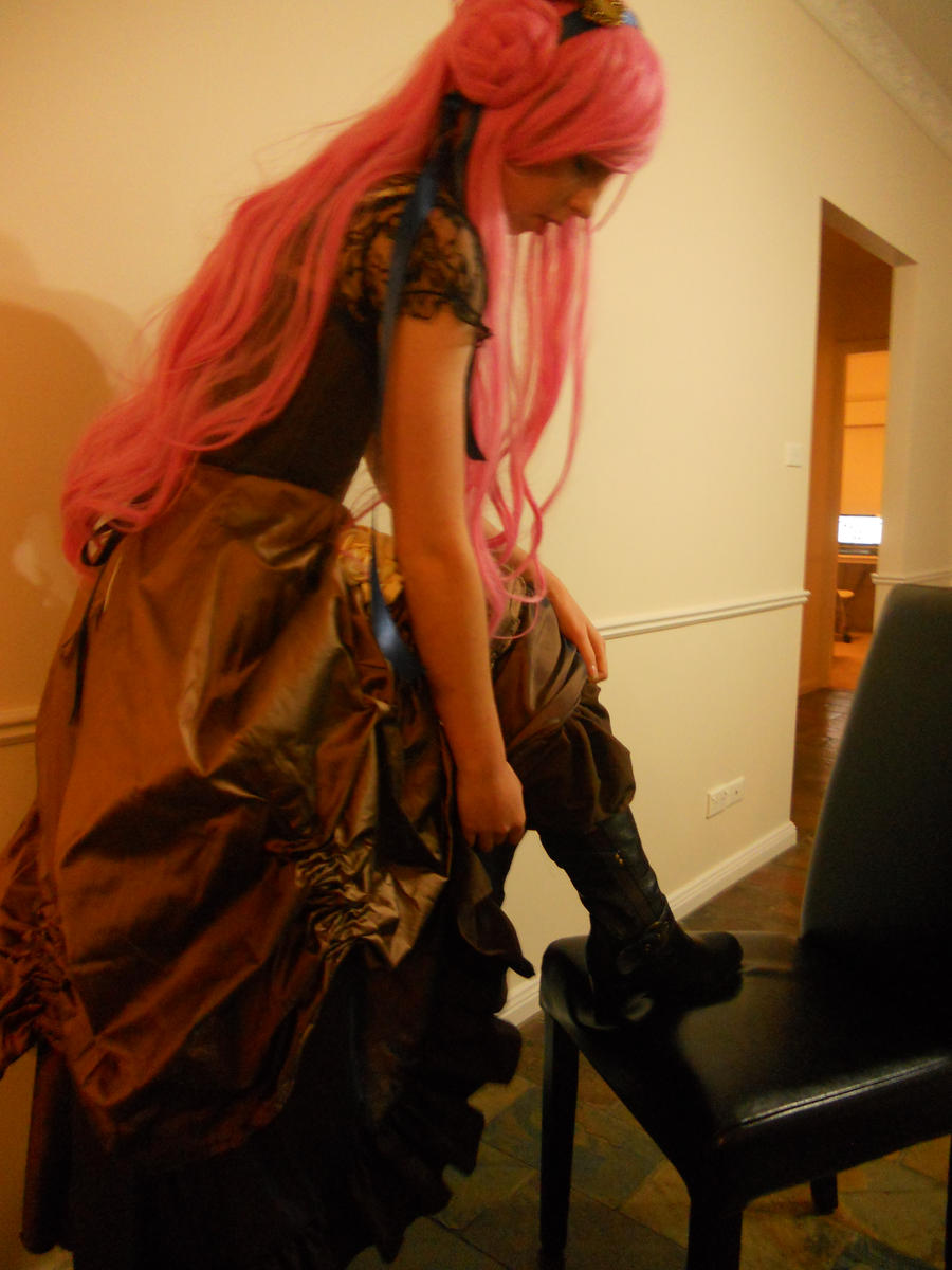 Steampunk Euphemia: Boots by tangerine-skye