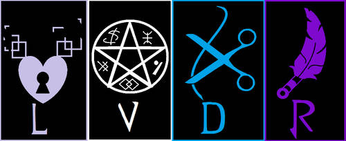 LVDR Symbols by SailorFireTiger