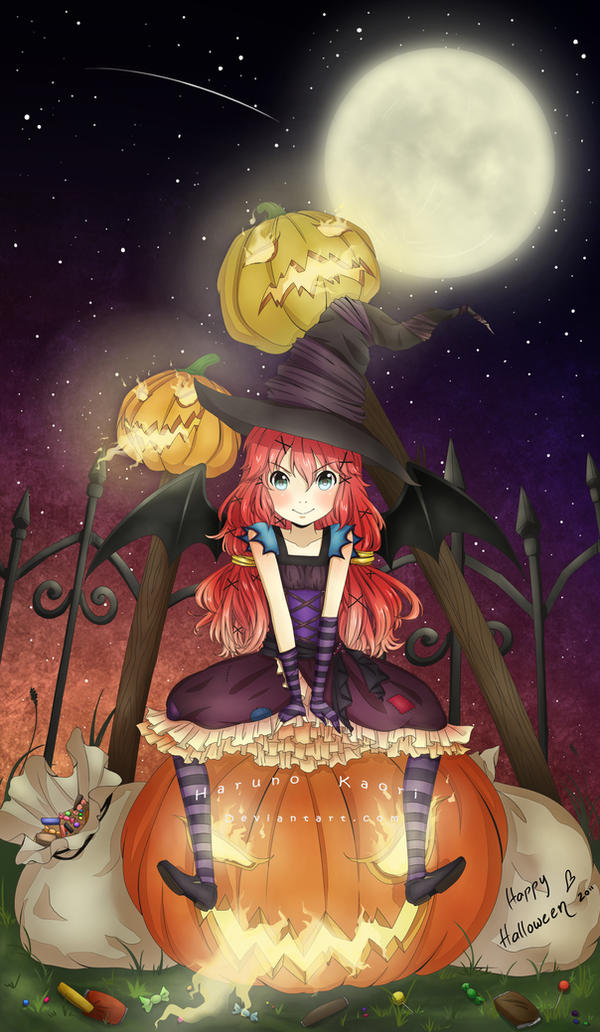 Happy Halloween 2011 by HarunoKaori